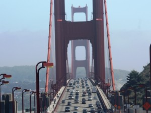 Golden Gate Bridge Nordende