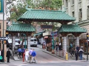 Dragon Gate China Town San Francisco