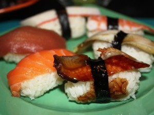 gesunde Ernaehrung mit Sushi